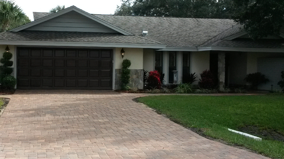 Paver Driveway and Walkways